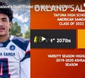 Okland Salave'a of Tafuna High School