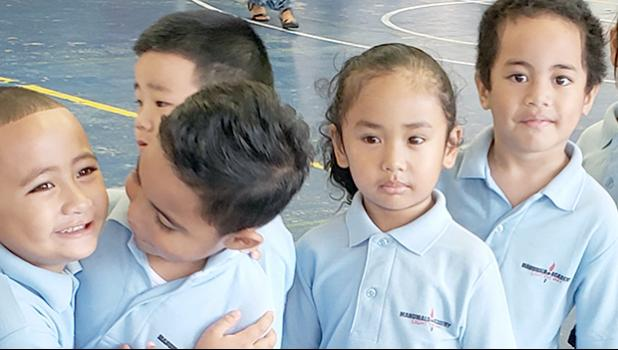 K4 students of Manumalo Academy