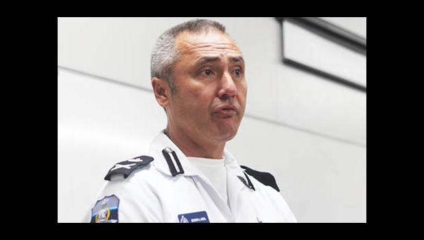 Police Commissioner Fuiavaili'ili Egon Keil [SN file photo]