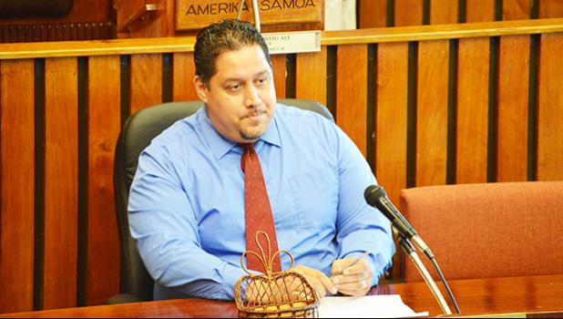 Public Defender Douglas Fiaui. [SN file photo]