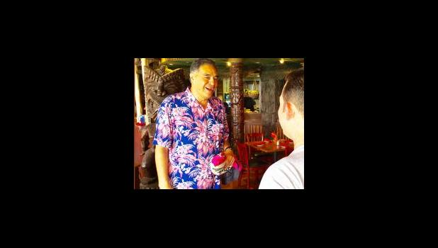 Mufi Hannemann, President & CEO of the Hawaii Lodging & Tourism Association meets with travel folk and Hawaii State Legislators on a daily basis to advocate for Hawaii's success. [Photo by Barry Markowitz, 3/31/16]