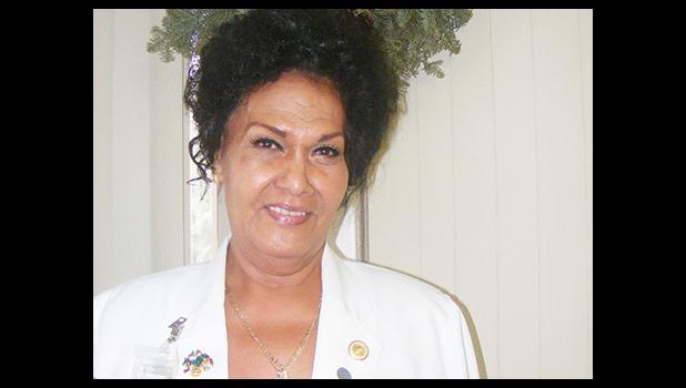 Loata Sipili, who heads LBJ hospital's diabetes program, is now a certified diabetes educator.  [photo: FS]