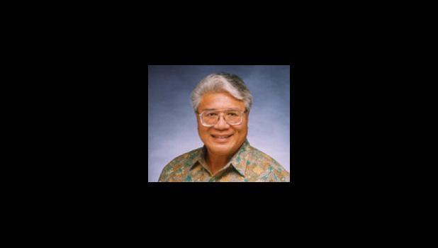 """Papaliʻi Failautusi """"Tusi"""" Avegalio, Jr. [photo: UH News]"""