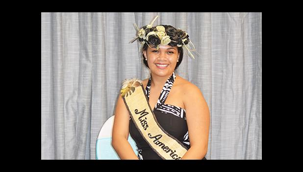 """""""Antonina has made all of American Samoa proud, because it's been a long time since we (American Samoa) have had such a high placing in the (Miss Pacific Islands) pageant, for the longest time and it's something to be proud of,"""" said Meafou Imo, President of Miss American Samoa Inc.  [photo: JL]"""