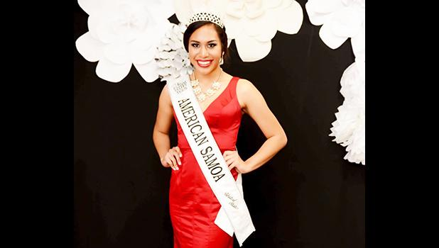 Mariah Limala'u Rae Naea is a Samoan girl who will be  representing the US in the Miss Teen Continents 2018 pageant next year. She is the daughter of Dorothy Meaole, and granddaughter of Ketesemane Meaole and the late Afano Limala'u Lemuga Meaole of Auto.  [photo: courtesy]