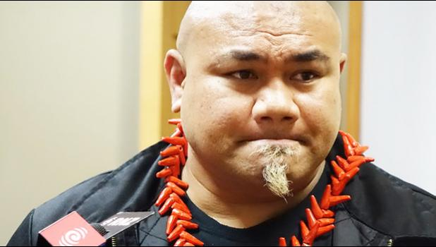 Boxing legend David Tua will speak at the The Gathering of the 3000.  [Photo: RNZ / Mei Heron]