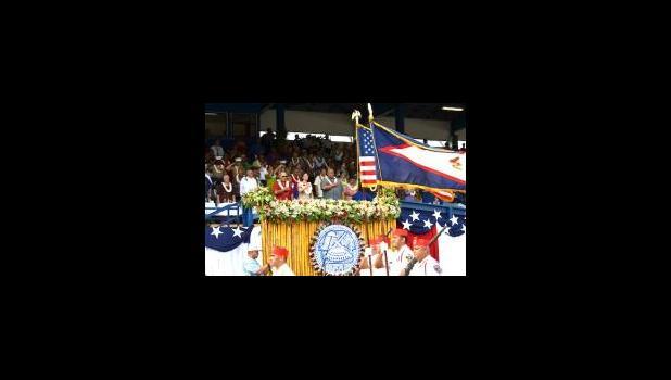 Ni isi o vaaiga i le fa'amanatuina o le 116 tausaga talu ona sisi le tagavai o Amerika i lau fanua o Amerika Samoa, lea sa fa'atautaia i le taeao ananafi i le malae o le Veterans Stadium i Tafuna. [ata AF]
