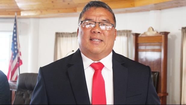Agriculture director Solialealofiotagaloa I.T. Mutini