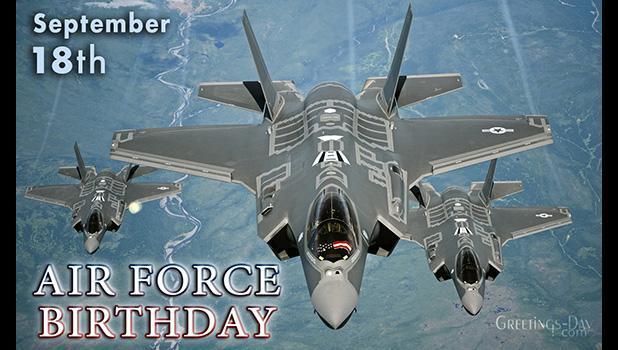 U.S. Air Force birthday logo