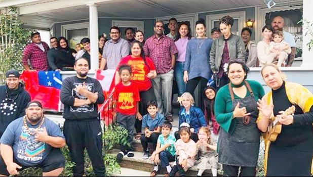 Samoans in Boston