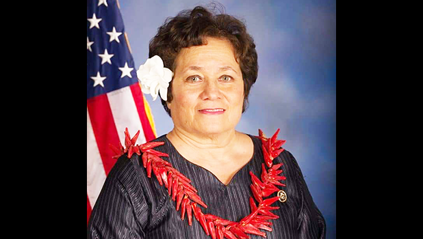 Congresswoman Uifaatali Amata