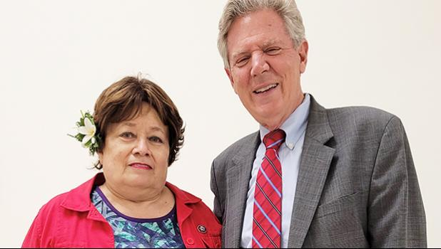 Congresswoman Amata with Frank Pallone