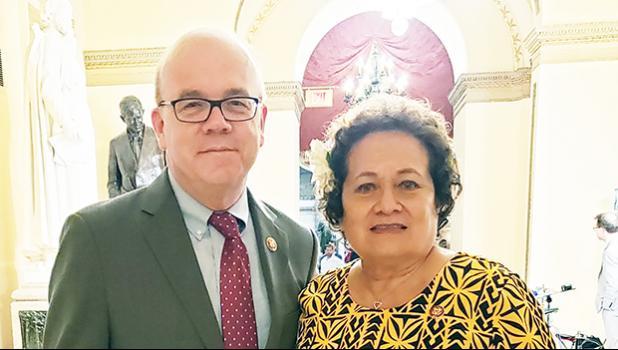 Amata and James P. McGovern