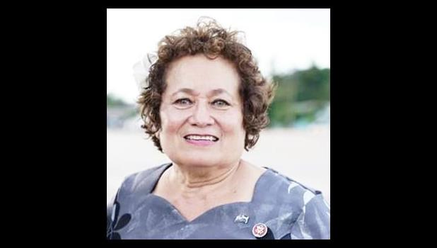 Congresswoman Uifa'atali Amata welcomed a $100,000 health grant from the American Rescue Plan Act, passed by Congress this year and signed into law in March.