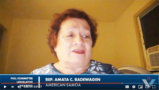 Amata in screenshot from You Tube