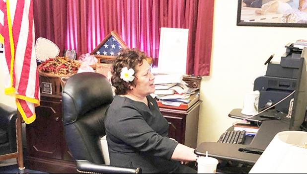 Congresswoman Amata speaks with Secretary McDonough virtually