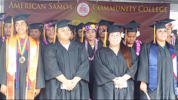 Some recent ASCC graduates