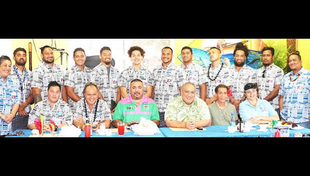 Atemdess at the American Samoa Rugby Union (ASRU) hosted a luncheon Monday afternoon at the DDW Beach Cafe