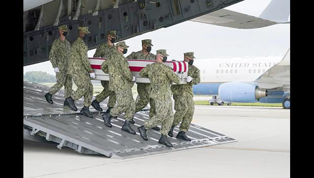 Transfer of dead at Dover Air Force Base