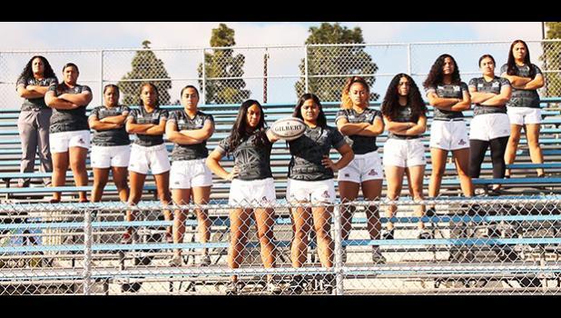 The Carson High School Girls Rugby Team