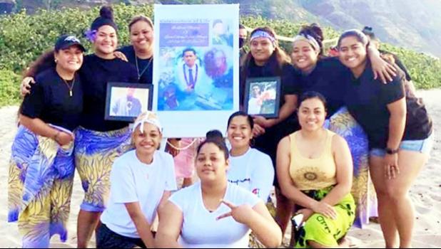 "Hawaii group pay tribute to Letini ""Ricky"" Fala Mauga"