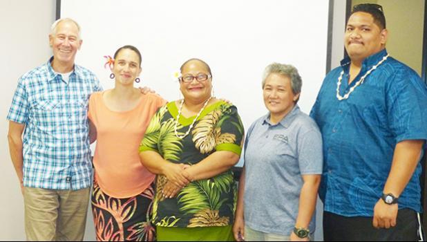Staff of the American Samoa EPA