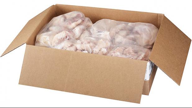 22 lb box of chicken leg quarters