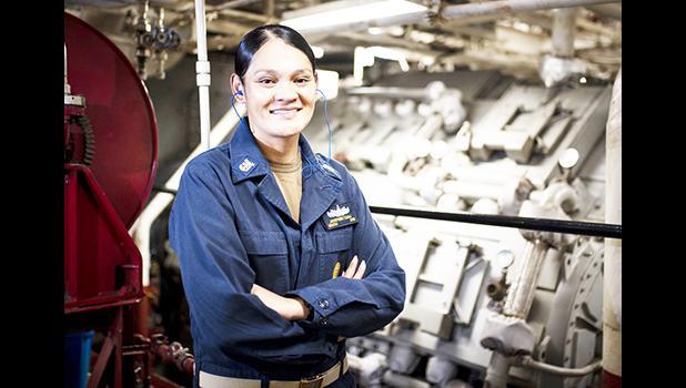 Command Master Chief Josephine Tauoa,