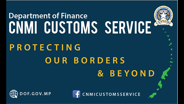 CNMI Customs Division logo
