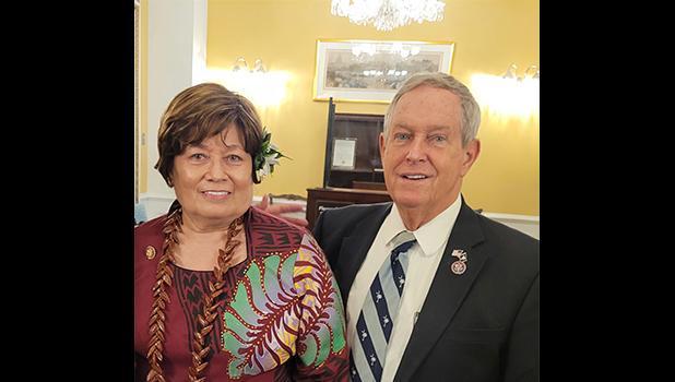 Congresswoman Amata with Congressman Joe Wilson