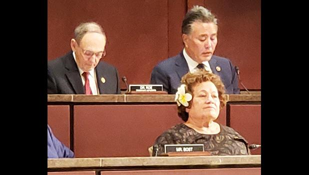 Congresswoman Amata in Committee with Chairman Takano and Ranking Member Dr. Roe.