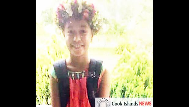 Puna Raela a nine-year-old girl from the Cook Islands
