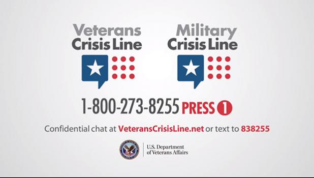 VA crisisline contact numbers