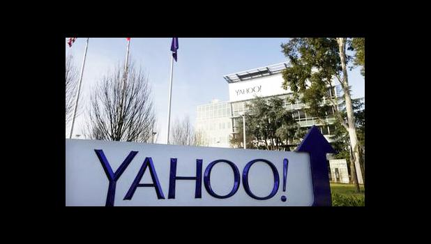This Jan. 14, 2015 file photo shows Yahoo's headquarters in Sunnyvale, Calif. Yahoo is warning users of potentially malicious activity on their accounts between 2015 and 2016, the latest development in the internet company's investigation of a mega-breach that exposed 1 billion users' data several years ago. Yahoo confirmed Wednesday, Feb. 15, 2017, that it was notifying users that their accounts had potentially been compromised but declined to say how many people were affected. (AP Photo/Marcio Jose Sanche