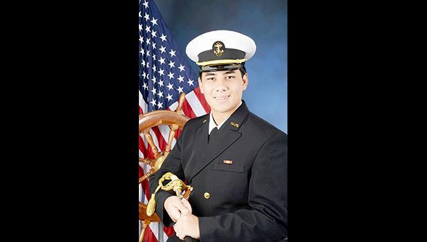 Daniel McMoore in uniform
