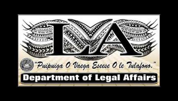 Dept. of Legal Affairs logo