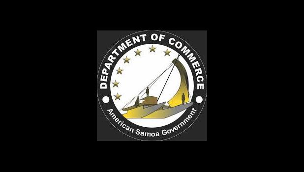 American Samoa Dept. of Commerce logo