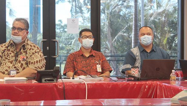 Dr. Saipale Fuimaono, Dr. Ronald Yip, Dr. Aifili John Tufa
