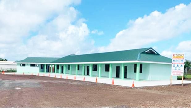 One of the two ASG quarantine facilities located behind the Tafuna Community Health Cente