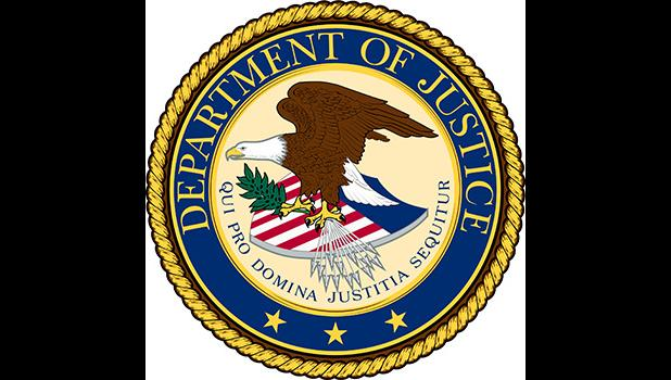 Dept of Justice logo