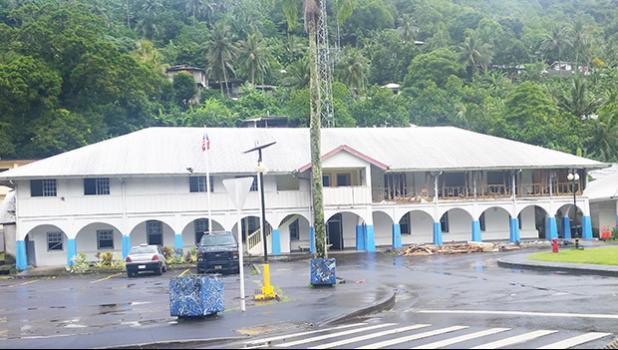 DPS headquarters in Fagatogo.
