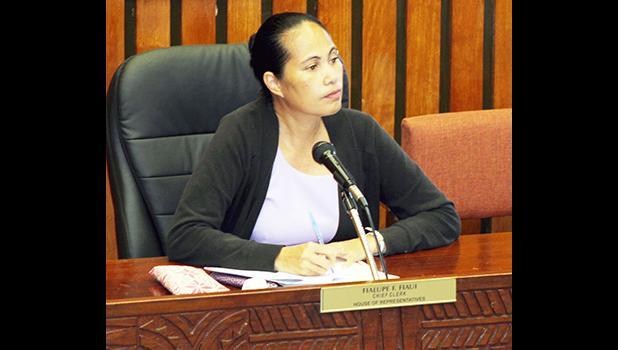 DPW director Faleosina Voigt