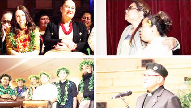 Pacific islanders at NZ apology