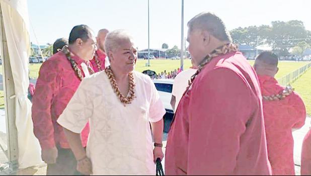 FAST leaders, Fiame Naomi Mataafa and Laaulialemalietoa Leuatea Polataivao