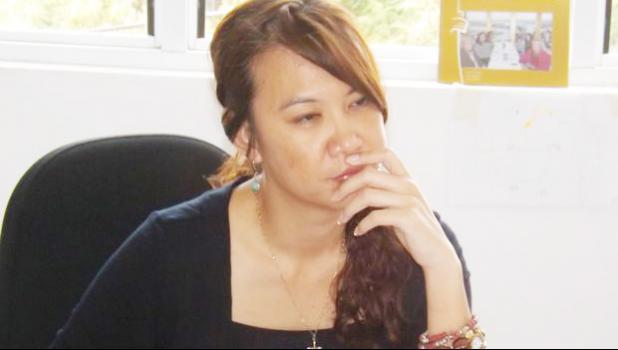 Suspended Director of the Public Prosecution office in Samoa, Mauga Precious Chang [photo: supplied / Autagavaia Tipi Autagavaia]