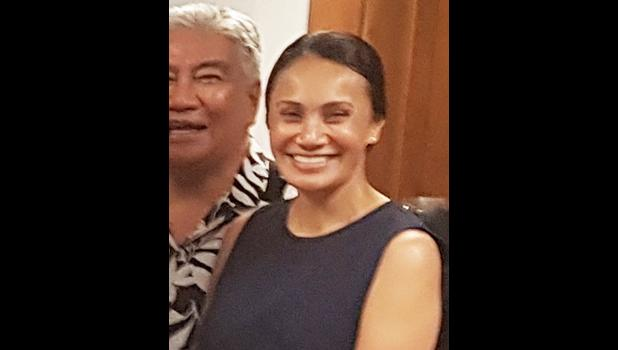 Ella Gurr, chairperson of the American Samoa Chamber of Commerce