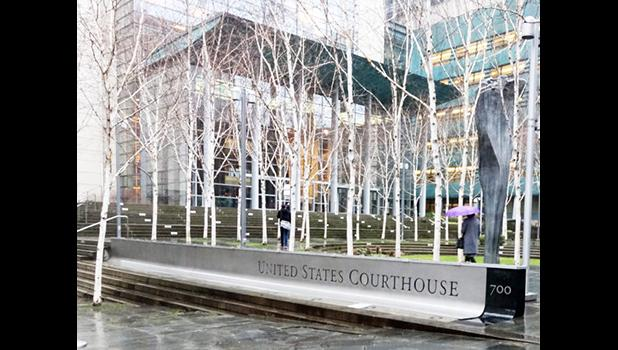 The Federal Court building in Seattle, Washington