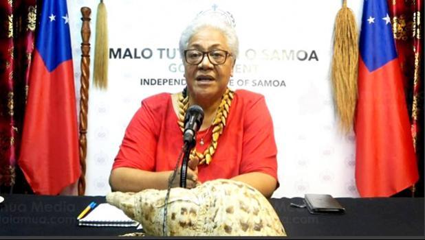 Prime Minister elect, Fiamē Naomi Mata'afa