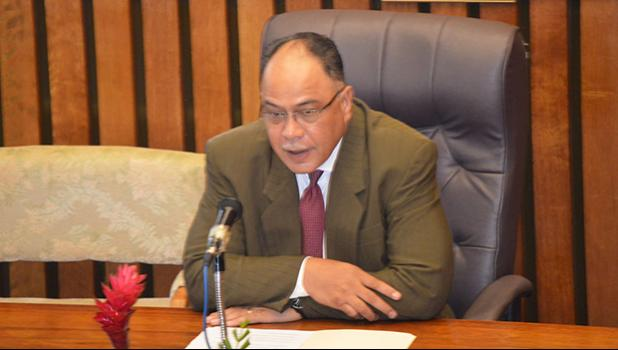Judge Fiti Sunia