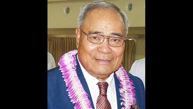 Governor Lolo Matalasi Moliga